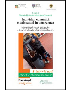 Individui, comunità e istituzioni in emergenza